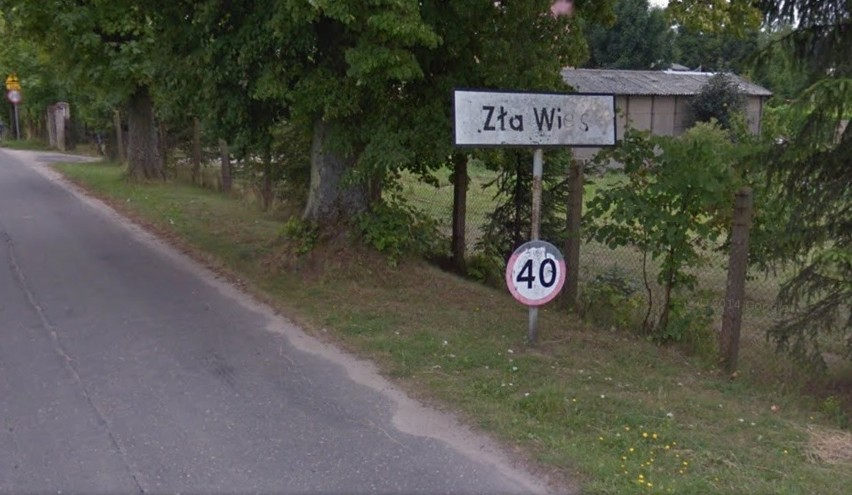 Niektóre nazwy polskich miejscowości naprawdę są...