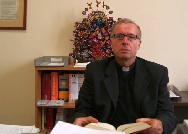 Biskup nominat Janusz Stepnowski