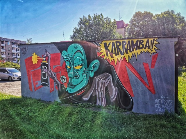Kluczborskie murale Petiona
