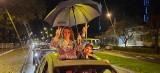 Protest samochodowy w obronie praw kobiet w Zielonej Górze