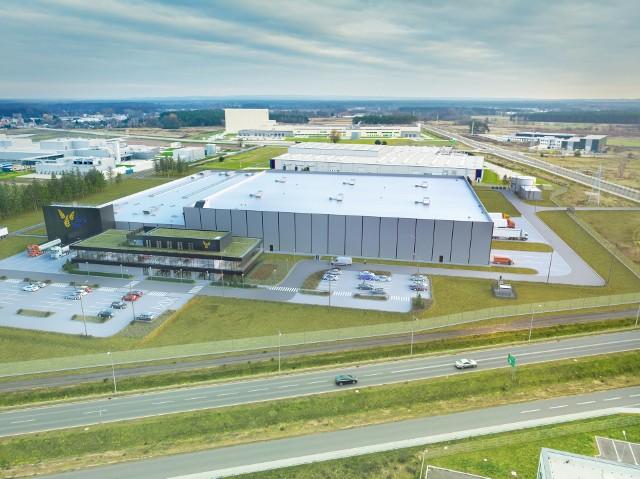 Wizualizacja nowej fabryki w Nowej Soli