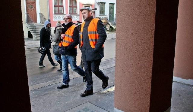 Ani Tomasz Wróblewski, ani Jakub Żelazny (z prawej) nie pełnią już funkcji menadżera Śródmieścia