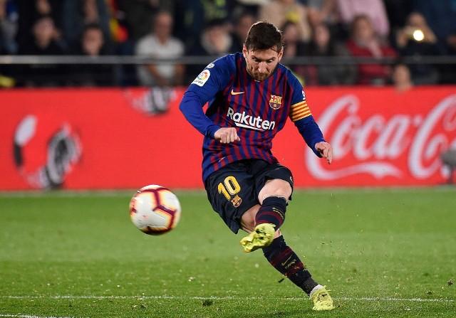 Lionel Messi z Barcelony walczy o Copa America