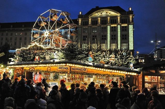 Jarmark bożonarodzeniowy w Dreźnie