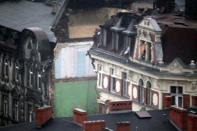 Wybuch kamienicy w Katowicach