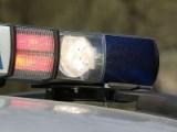 78-latek zasnął za kierownicą. Uderzył w słup, auto dachowało