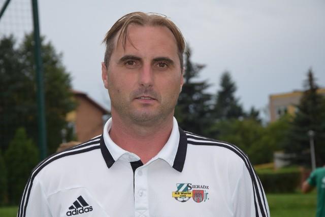 Łukasz Markiewicz jest trenerem Warty II Sieradz