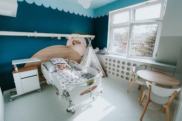 Bajkowa sala nr 10 w Uniwersyteckim Szpitalu Klinicznym w Białymstoku.