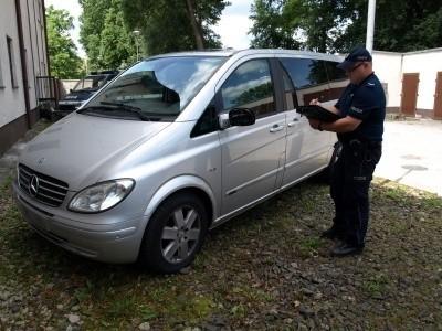 Mercedes został skradziony w Niemczech
