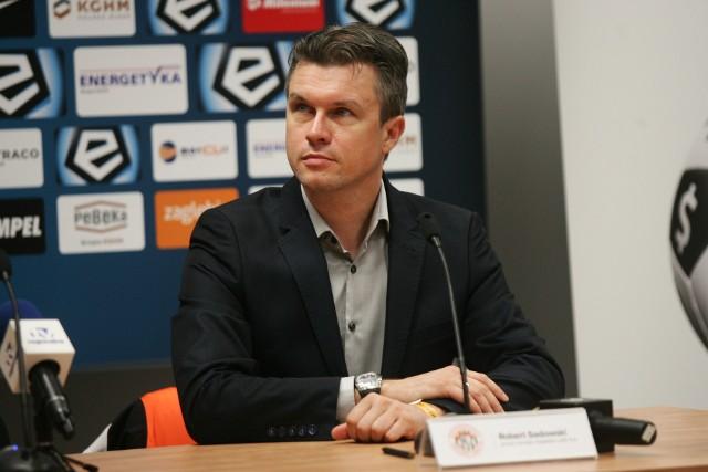 Robert Sadowski prezesem Zagłębia był w latach 2016-2018