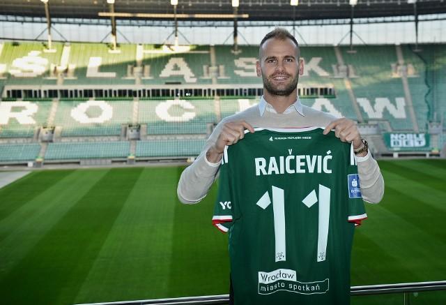 Filip Raičević piłkarzem Śląska Wrocław