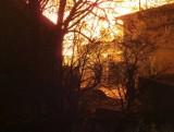 Pięć zastępów straży pożarnej walczyło z ogniem w Osieku (powiat brodnicki)