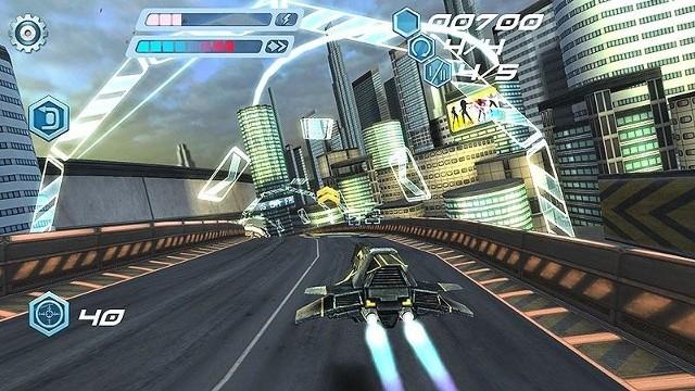 FLASHOUT 3DFLASHOUT 3D to bardzo szybkie, futurystyczne wyścigi