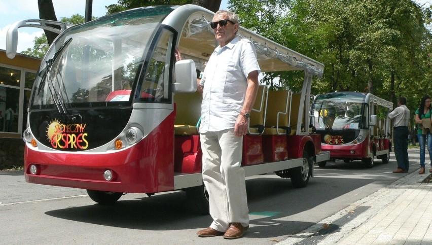 Wycieczki linią Słoneczny Ekspres, prowadzoną od 2013 roku przez Jerzego Libudę, są jedną z atrakcji buskich Dni Otwartych dla Turystyki 2018.