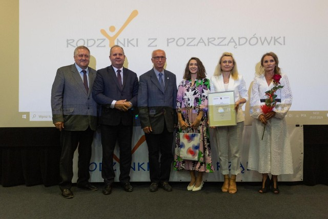 Od prawej: Dorota Grudzińska, Marzena Zdrojewska i Natalia Zdrojewska
