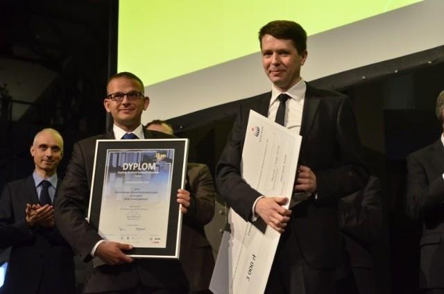 """W kategorii """"Mały Przedsiębiorca"""" laureatem konkursu Poznański Lider Przedsiębiorczości została firma Currency One S.A."""