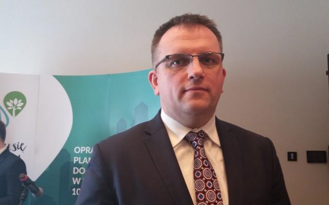 Dr Krystian Szczepański, dyrektor Instytutu Ochrony Środowiska w Warszawie