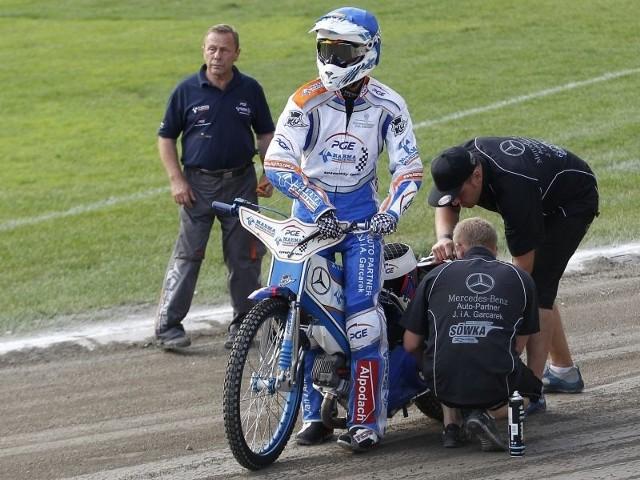 Łukasz Sówka musi popracować przy swoich motorach.