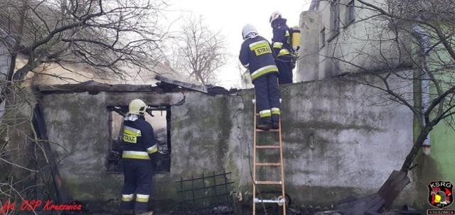 Jak już informowaliśmy, wczoraj około godziny 12 w miejscowości Skotniki (gmina Kruszwica) wybuchł pożar. Jak informował nas kpt. Jarosław Skotnicki z PSP Inowrocław, pożar wybuchł w niewielkiej kotłowni (6 mkw.) przylegającej do budynku jednorodzinnego. Jedna osoba z ogólnymi obrażeniami (prawdopodobnie podtrucie) została przekazana zespołowi ratownictwa medycznego. W akcji gaśniczej udział brało 6 jednostek straży pożarnej: OSP i PSP. Zobaczcie zdjęcia z pożaru udostępnione przez OSP Kruszwica >>>>