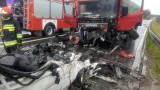 Tragiczny wypadek w Wasilkowie w relacji służb. Kierowca mercedesa poniósł śmierć na miejscu [ZDJĘCIA]