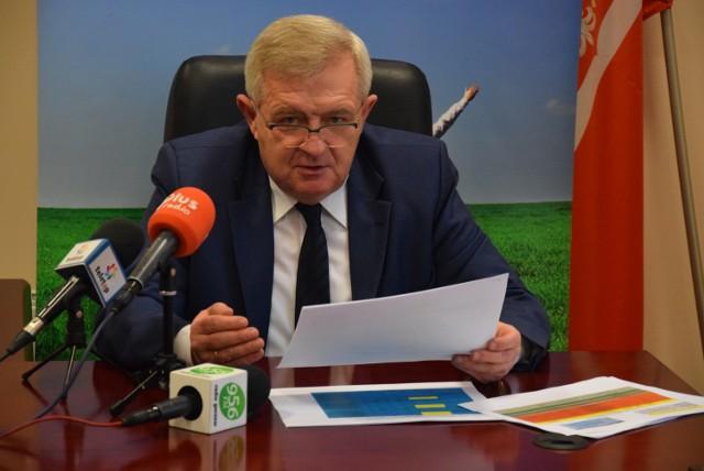 Informację o tym, na co pójdą pieniądze w ramach Interregu przekazał członek zarządu województwa Tadeusz Jędrzejczak.
