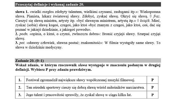 Egzamin gimnazjalny 2016. JĘZYK POLSKI - co sprawia największą trudność (NAJTRUDNIEJSZE ZADANIA)