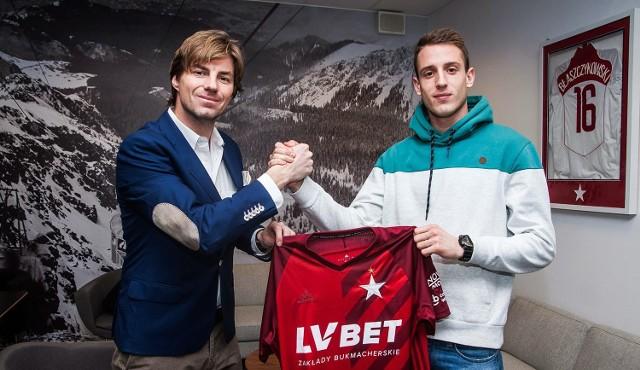 Wisła Kraków wypożyczyła kolejnego zawodnika z opcją pierwokupu.