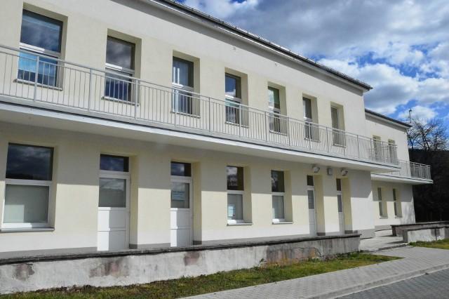 Oddział zakaźny szpitala w Myślenicach