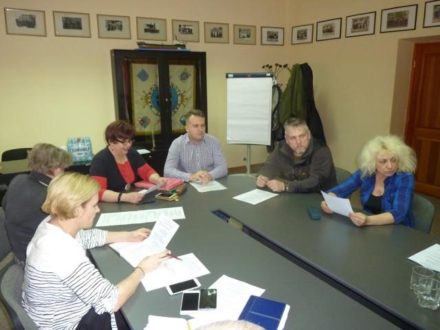 Robocze posiedzenie sztabu WOŚP w Starachowicach.