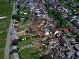 Pogorzelisko w Nowej Białej. Na tych zdjęciach widać prawdziwą skalę zniszczeń w małopolskiej wsi