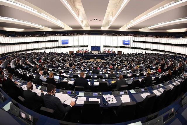 Sala obrad Paralemntu Europejskiego w Strasburgu