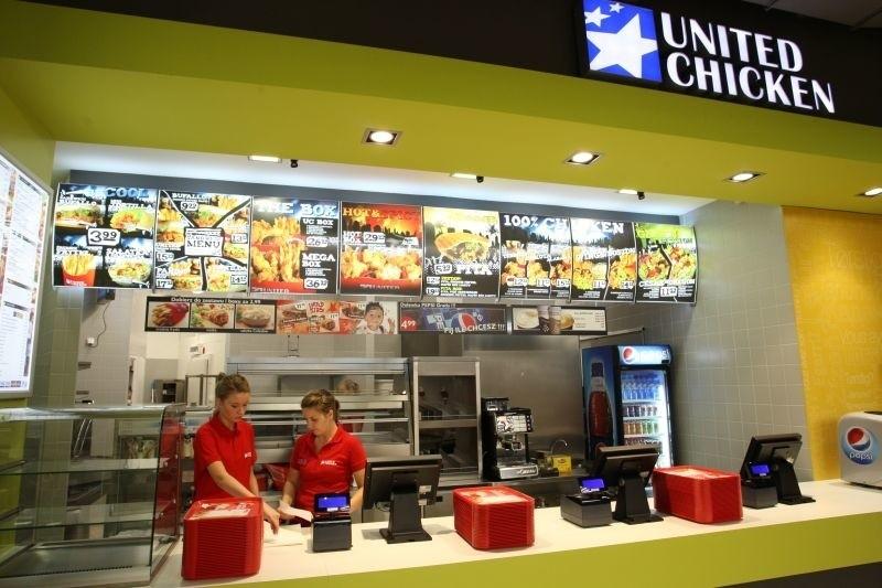 United Chicken w Białymstoku. Galeria Alfa
