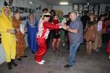 """Na balu karnawałowym bawili się członkowie Abstynenckiego Klubu Wzajemnej Pomocy """"Viola"""" w Brzezinach"""