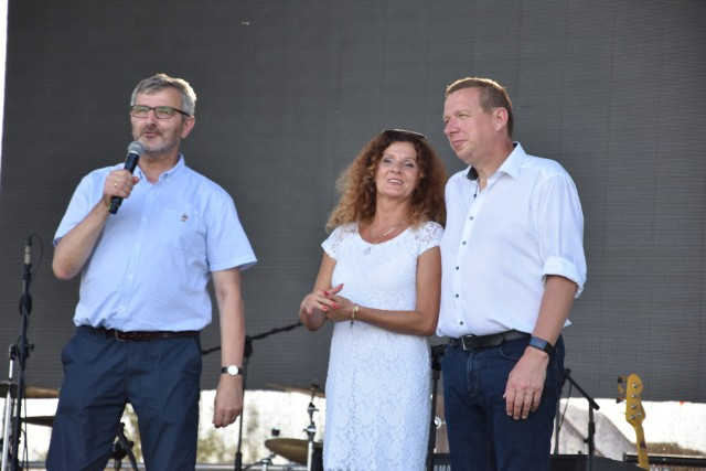 O zbliżającym się jubileuszu mówili w sobotę 28 lipca nad Notecią  starostowie Nakła i Elbe Elster. Nakło już się szykuje...