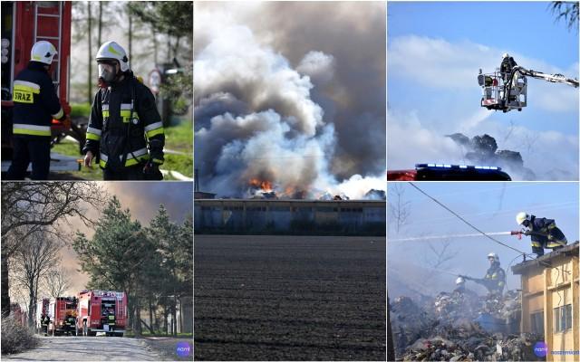 Pożar w Łowiczku