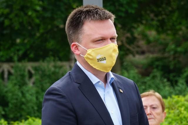 Do ruchu Szymona Hołowni dołączył burmistrz Siedliszcza.