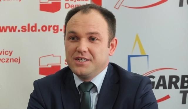 Tomasz Garbowski był w SLD od 16 lat.