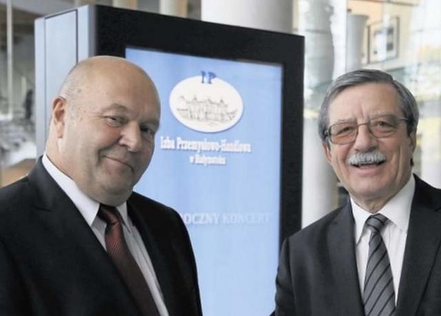 Witold Karczewski prezes IP-H w Białymstokui Wojciech Kruk, prezes IP-H w Poznaniu chcą, by przedsiębiorcy mieli krótszą drogę do rozstrzygania sporów