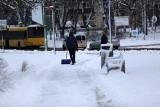 Na Śląsku spadło 10 cm śniegu i ciągle sypie. Kierowcy utknęli na zasypanych i śliskich drogach