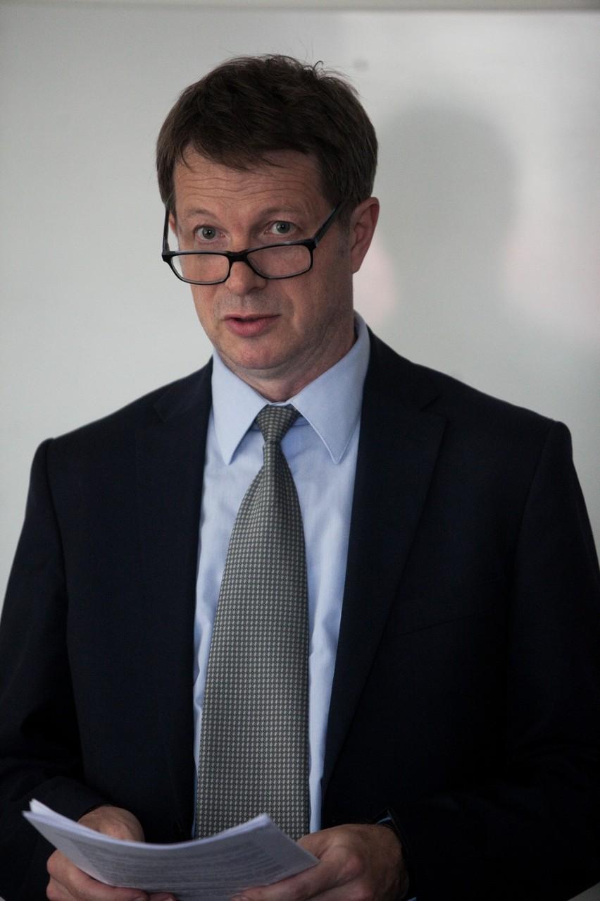Andrzej Robakowski, p.o. dyrektora Izby Skarbowej w Bydgoszczy poinformował o założeniach reformy instytucji skarbowych