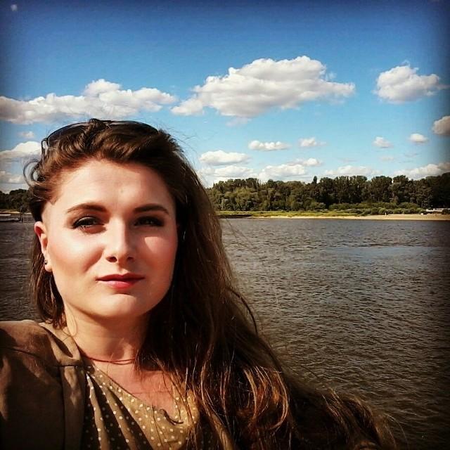 Oksana studiuje projektowanie odzieży. Dobrze mówi po polsku. - Musiałam się szybko nauczyć, bo tak lubię mówić!