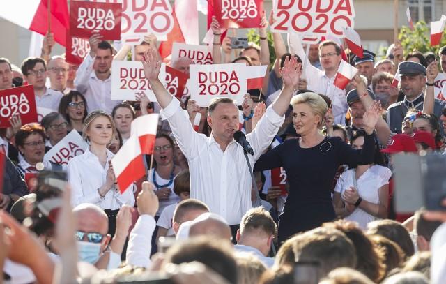 W piątek Andrzej Duda zakończył swoją kampanię wyborczą na rzeszowskim Rynku.