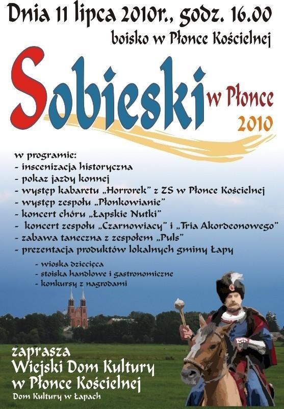 Wiejski Dom Kultury w Płonce Kościelnej i Dom Kultury w Łapach zapraszają na festyn