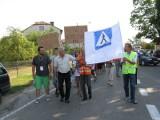 Boguty - Pianki: Znów protestowali przeciwko likwidacji przejścia dla pieszych