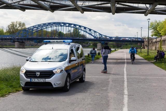 Krakowska straż miejska, zdjęcie ilustracyjne