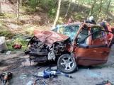 Śmiertelny wypadek w gminie Trąbki Wielkie 14.06.2021 r. Nie żyje jedna osoba, dwie są w szpitalu