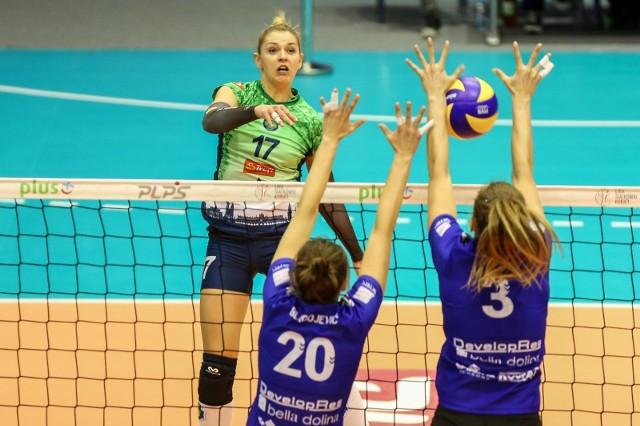 Kinga Hatala grała w ostatnim sezonie w Proximie Trefl Kraków m.in. przeciwko Developresowi.