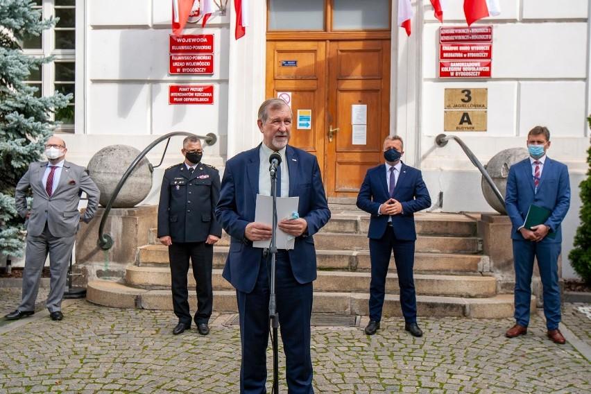O sytuacji w kujawsko-pomorskich szkołach mówił podczas konferencji prasowej Marek Gralik, kurator oświaty.