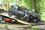 Makabryczny wypadek samochodowy niedaleko Górzycy. Zginęły trzy młode osoby. Trwają oględziny miejsca zdarzenia