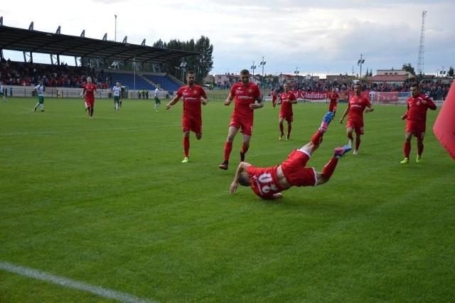 Michał Miller zdobył pięknego gola w Aleksandrowie